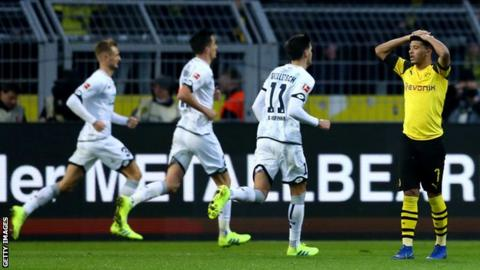 Hoffenheim rally for 3-3 draw against Dortmund in Bundesliga