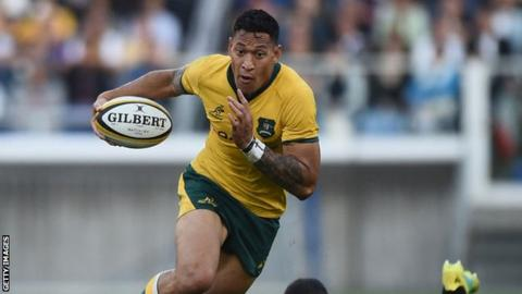 Autumn International: Australia make four changes for Wales clash