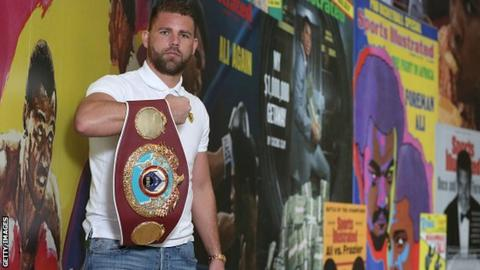 Saunders has a win over Chris Enbank Jr on his record
