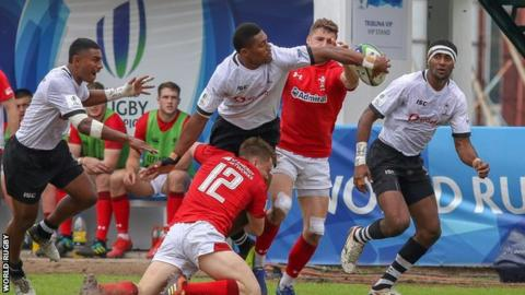 Fiji's free-running rugby caused Wales plenty of problems