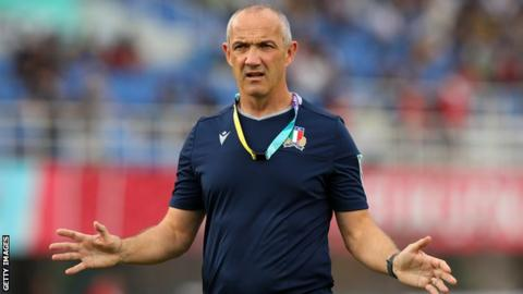 Rugby World Cup: Italy 'devastated' by exit, says coach Conor O'Shea