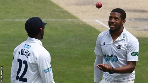 Chris Jordan, Jofra Archer