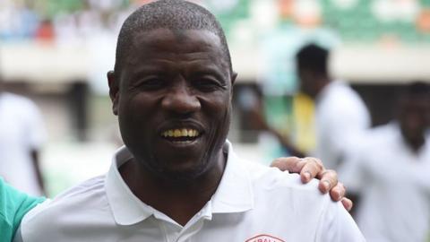 Nigeria coach Salisu Yusuf