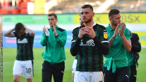 Ryan Edwards was part of the Argyle side relegated back to League Two on the final day of the season