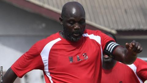 Ex-soccer star, George Weah to be sworn as Liberia's President
