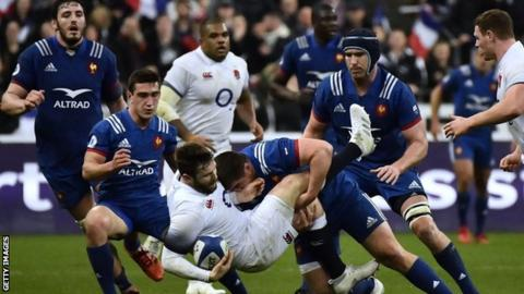 Six Nations: England losing streak only natural - Jones
