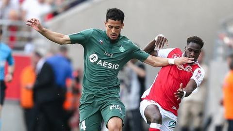 Tottenham bid to beat Arsenal for St Etienne defender William Saliba