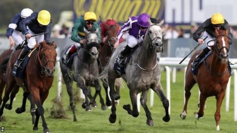 Capri wins the St Leger