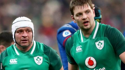 Ulster pair Rory Best and Iain Henderson helped Ireland to a Grand Slam success on Saturday