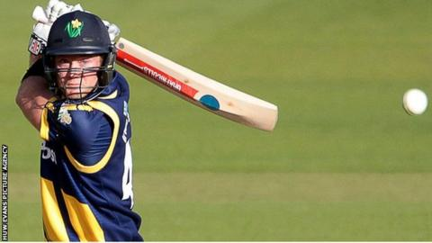 Colin Ingram hits out for Glamorgan against Essex