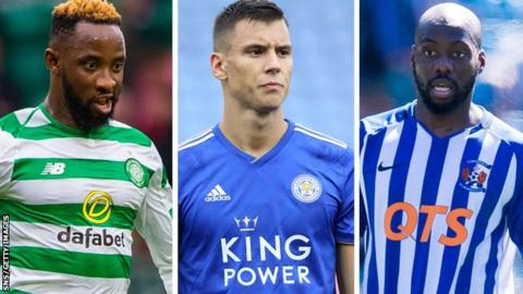 Moussa Dembele, Filip Benkovic, Youssouf Mulumbu