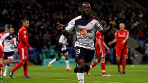 Nigel Reo-Coker in action for Bolton
