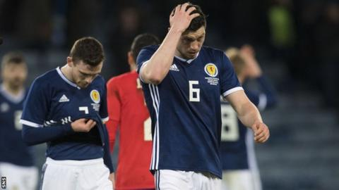 Scotland boss McLeish searching for rhythm over results