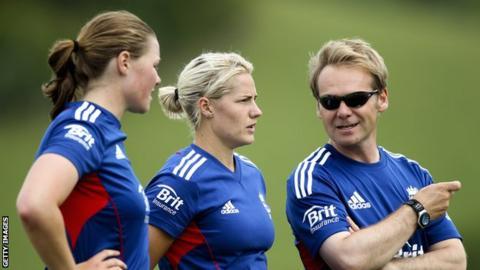 sports Anya Shrubsole, Katherine Brunt and Paul Shaw