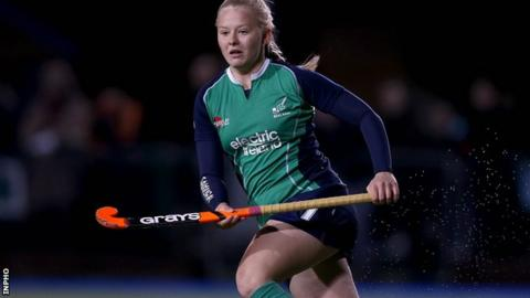 Chloe Brown scored Ireland's opener against the Czech Republic