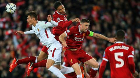 Liverpool v Roma