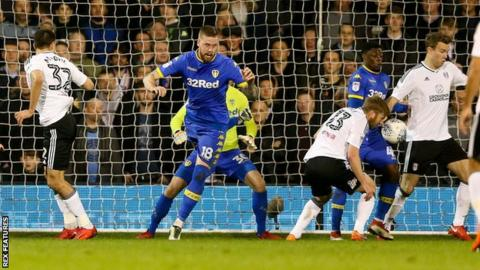 Kevin McDonald deflects in Fulham's opening goal