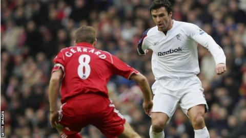 Steven Gerrard and Gary Speed