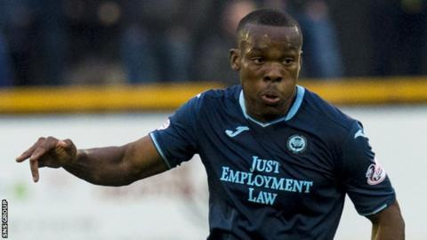 Souleymane Coulibaly was allowed to join Thistle as a free agent