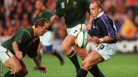 Scotland fly-half Gregor Townsend
