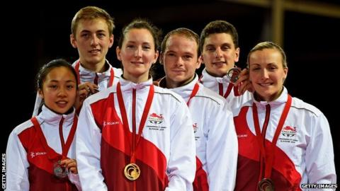Team England table tennis