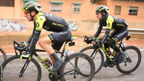 dc3144d2f Adam and Simon Yates to race in same team in Vuelta a Espana - BBC Sport