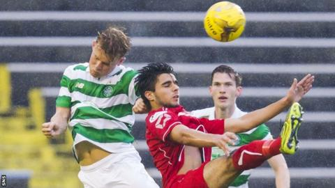 Celtic Under-20s v Annan Athletic