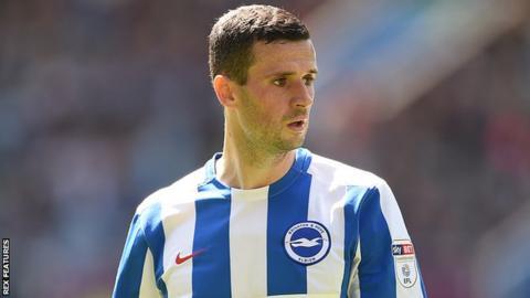 Brighton winger Jamie Murphy