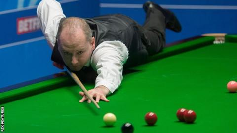 Graeme Dott, the world champion in 2006, suffered a first round exit at the Crucible