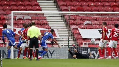 Sean Morrison heads Cardiff ahead