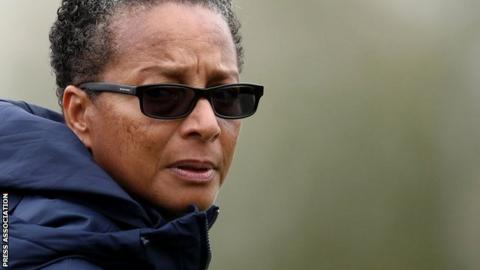 Brighton manager Hope Powell has been in charge since the summer of 2017
