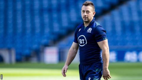 Scotland make 10 changes to their team to face Ireland