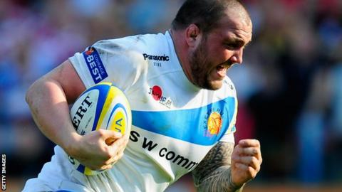 Craig Mitchell in action for Exeter Chiefs