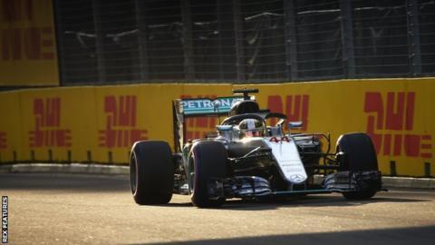 Mercedes F1 driver Lewis Hamilton