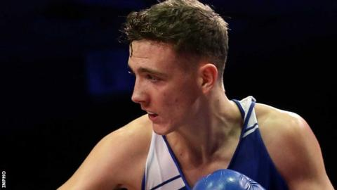 Belfast boxer Brendan Irvine is trying to qualify to represent Ireland at the 2016 Olympic Games