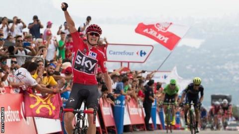 a304252c0 Chris Froome was unfazed by the competition as he extended his lead on  stage nine