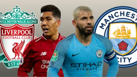0905aae17 Manchester City v Liverpool  Mohamed Salah and Sergio Aguero make your  combined XI