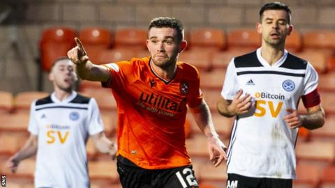 Sam Stanton has scored three times in 22 appearances for Dundee United this season