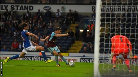 Robbie Brady scores against Blackburn