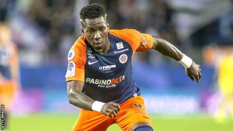 Cameroon and Montpellier's Ambroise Oyongo Bitolo