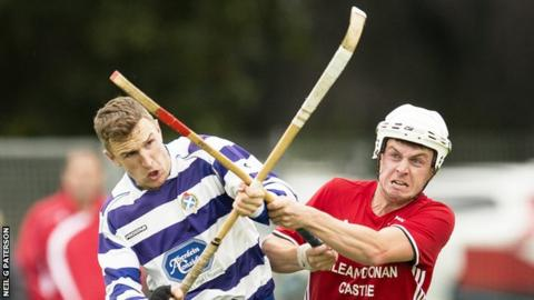 Newtonmore held on to earn a place in the final