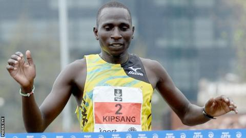 Joel Kipsang Kositany won the Belfast Marathon in 2013 and 2015