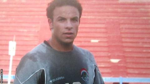 Fahd Saleh training