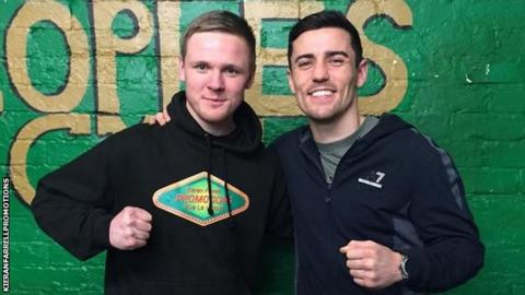 Kieran Farrell and Anthony Crolla