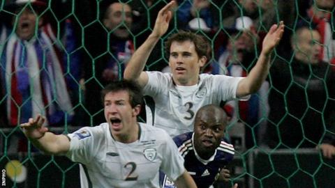 William Gallas scored a controversial goal for France the last time the Republic of Ireland played in Paris