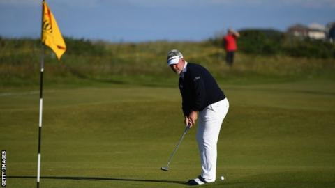 Clarke last made it into the weekend field at the 2016 Open Championship at Royal Troon