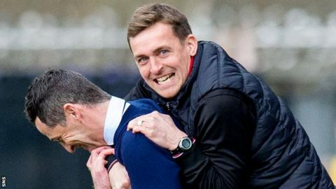 James Fowler has most recently been assistant to Jack Ross at St Mirren and Sunderland