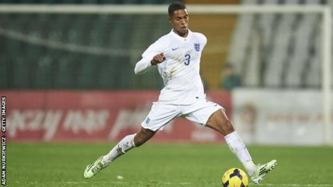 Max Lowe was capped by England at Under-18 level