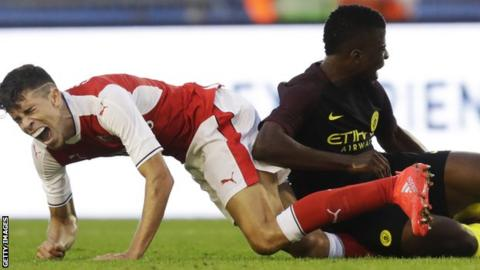 Gabriel suffers an ankle injury