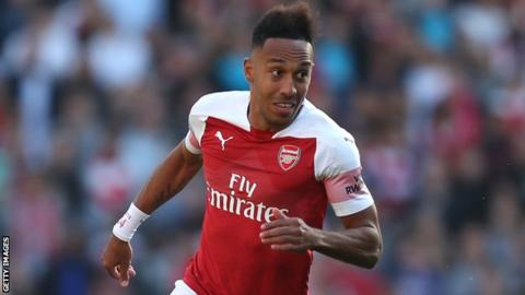 Gabon and Arsenal's Pierre-Emerick Aubameyang